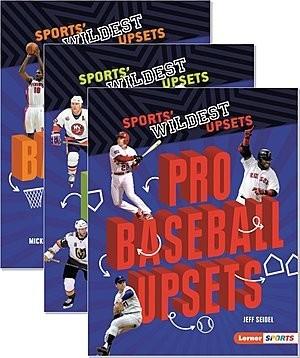Cover: Sports' Wildest Upsets (Lerner ™ Sports) — Paperback Set