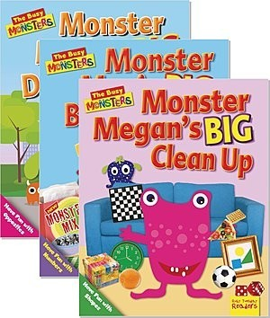 Cover: The Busy Monsters — Paperback Set