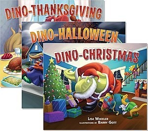 Cover: Dino-Holidays — Trade Hardcover Set