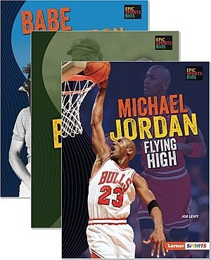 Cover: Epic Sports Bios (Lerner ™ Sports) — Library Bound Set