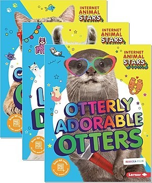 Cover: Internet Animal Stars — Hardcover Set