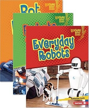 Cover: Lightning Bolt Books ® — Robotics — Library Bound Set