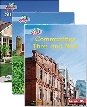 Cover: My Community (Pull Ahead Readers — Nonfiction) — Hardcover Set