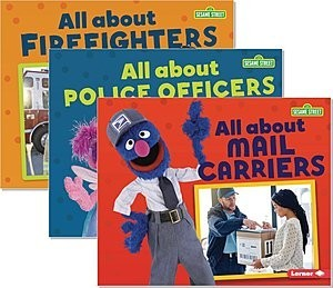 Cover: Sesame Street ® Loves Community Helpers — Library Bound Set