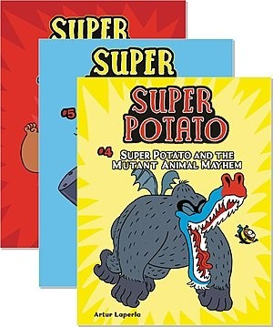 Cover: Super Potato — Hardcover Set