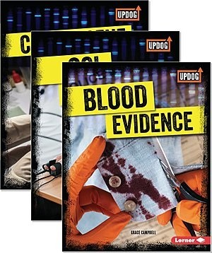 Cover: True Crime Clues (UpDog Books ™) — Library Bound Set