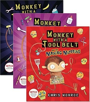 Cover: Monkey with a Tool Belt — Hardcover Set