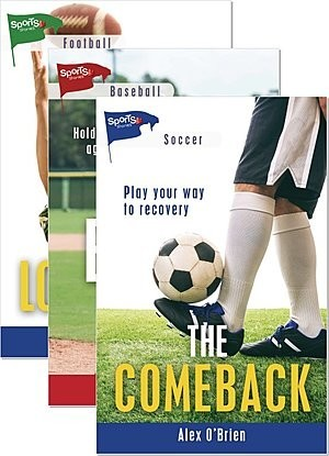 Cover: Lorimer Sports Stories Fall 2020 New Releases — Library Bound Set