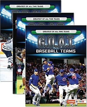 Cover: Greatest of All Time Teams (Lerner ™ Sports) — Hardcover Set