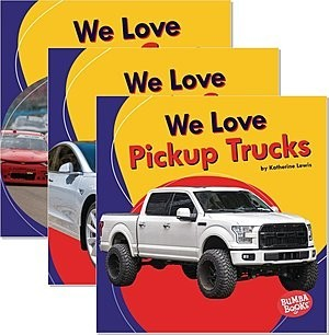 Cover: Bumba Books ® — We Love Cars and Trucks — Hardcover Set
