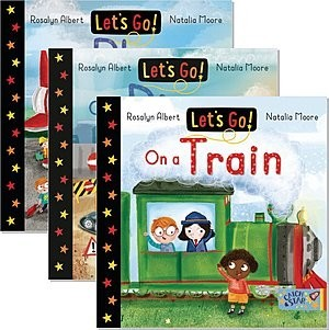 Cover: Let's Go! — Board Book Set