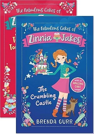 Cover: The Fabulous Cakes of Zinnia Jakes — Hardcover Set