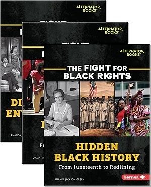 Cover: The Fight for Black Rights (Alternator Books ®) — Hardcover Set