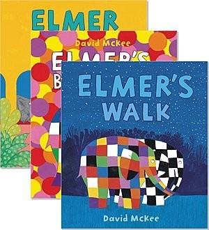 Cover: Elmer — Hardcover Set