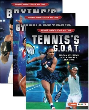 Cover: Sports' Greatest of All Time (Lerner ™ Sports) — Hardcover Set