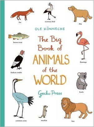 Cover: The Big Book of Animals of the World