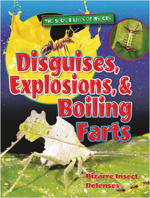 Cover: Disguises, Explosions, and Boiling Farts: Bizarre Insect Defenses