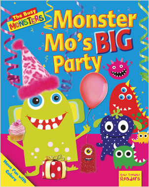 Cover: Monster Mo's BIG Party: Have Fun with Colors