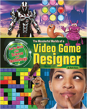 Cover: The Wonderful Worlds of a Video Game Designer