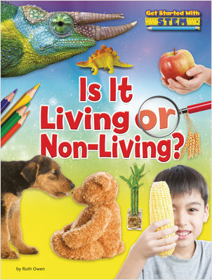 Cover: Is it Living or Non-Living?