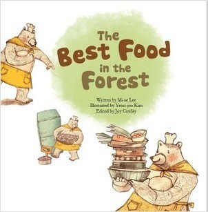 Cover: The Best Food in the Forest: Picture Graphs