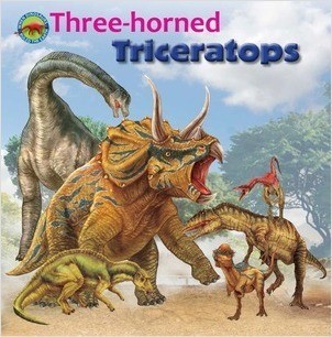 Cover: Three-horned Triceratops