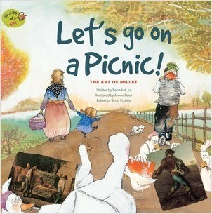 Cover: Let's Go on a Picnic: The Art of Millet