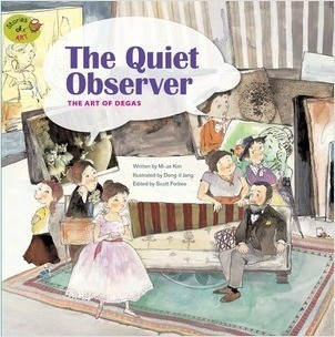 Cover: The Quiet Observer: The Art of Degas