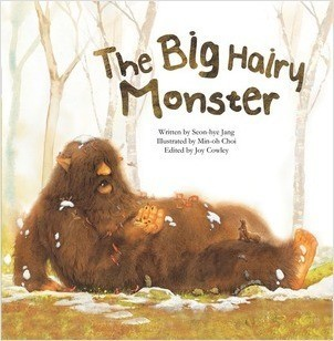 Cover: The Big Hairy Monster: Counting to Ten
