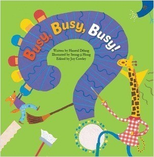 Cover: Busy, Busy, Busy!: Pattern