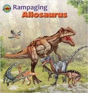 Cover: Rampaging Allosaurus