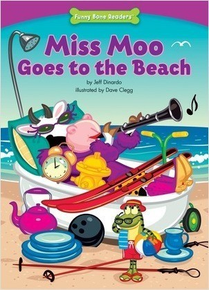 Cover: Miss Moo Goes to the Beach