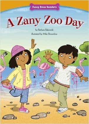 Cover: A Zany Zoo Day