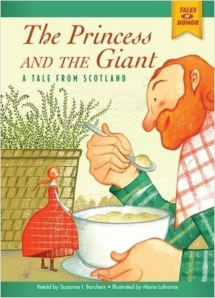 Cover: The Princess and the Giant: A Tale from Scotland