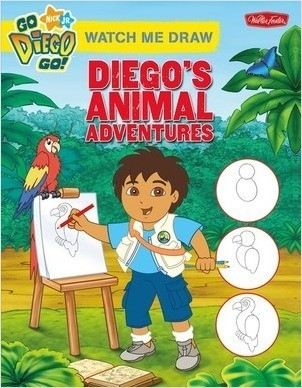 Cover: Watch Me Draw Diego's Animal Adventures