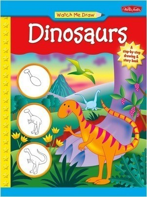 Cover: Watch Me Draw Dinosaurs