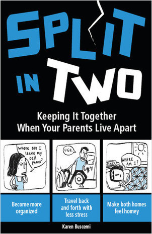 Cover: Split in Two: Keeping it Together When Your Parents Live Apart