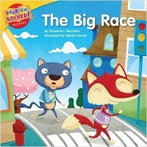 Cover: The Big Race: A lesson on perseverance