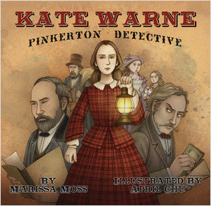 Cover: Kate Warne, Pinkerton Detective