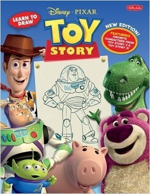 Cover: Learn to Draw Disney∙Pixar Toy Story: New Expanded Edition! Featuring favorite characters from Toy Story 2 & Toy Story 3!