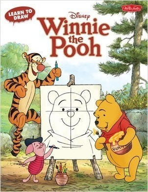 Cover: Learn to Draw Winnie the Pooh: Featuring Tigger, Eeyore, Piglet, and other favorite characters of the Hundred-Acre Wood!