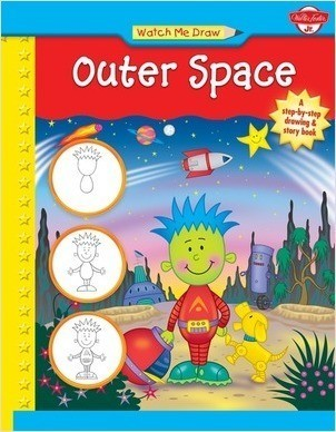 Cover: Watch Me Draw Outer Space