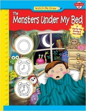 Cover: Watch Me Draw the Monsters Under my Bed
