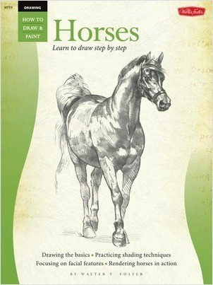 Cover: Horses: Learn to draw step by step