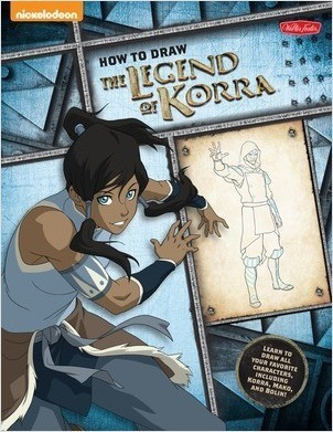 Cover: How to Draw The Legend of Korra: Learn to draw all of your favorite characters, including Korra, Mako, and Bolin!