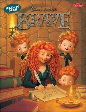 Cover: Learn to Draw Disney Brave: Featuring favorite characters from the Disney∙Pixar film, including Merida and Angus