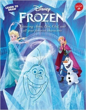 Cover: Learn to Draw Disney Frozen: Featuring Anna, Elsa, Olaf, and all your favorite characters!