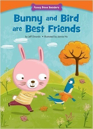 Cover: Bunny and Bird are Best Friends: Making New Friends