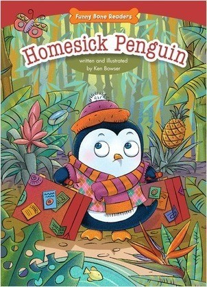 Cover: Homesick Penguin: Empathy/Caring for Others