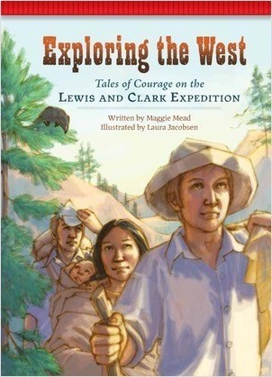 Cover: Exploring the West: Tales of Courage on the Lewis and Clark Expedition